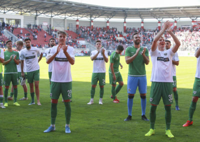 Hallescher FC - Preußen Münster
