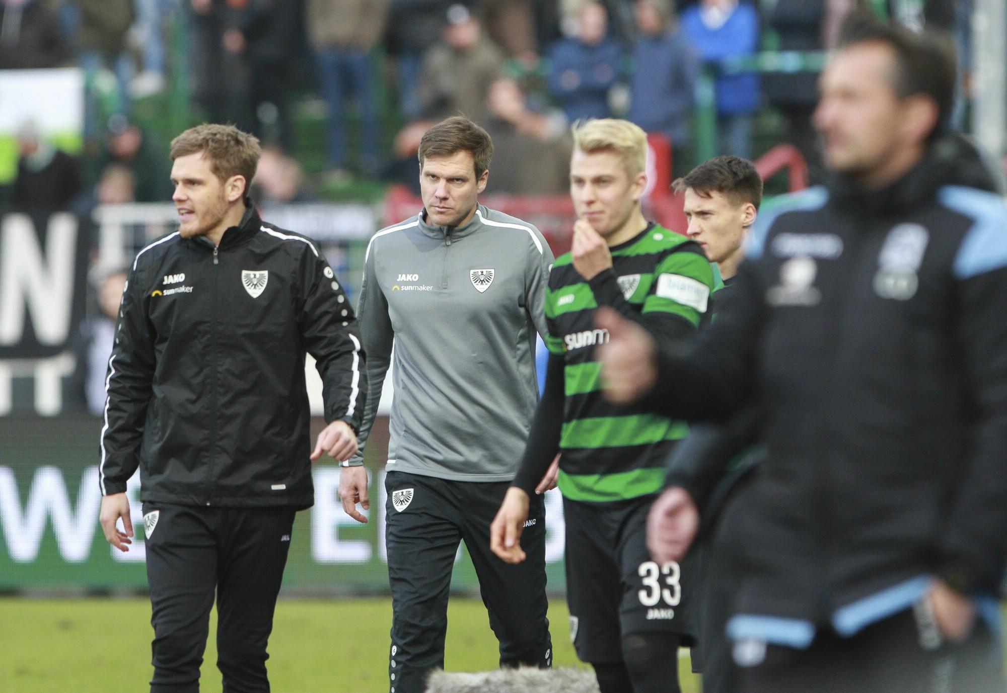 Preußen Münster gegen TSV 1860 München