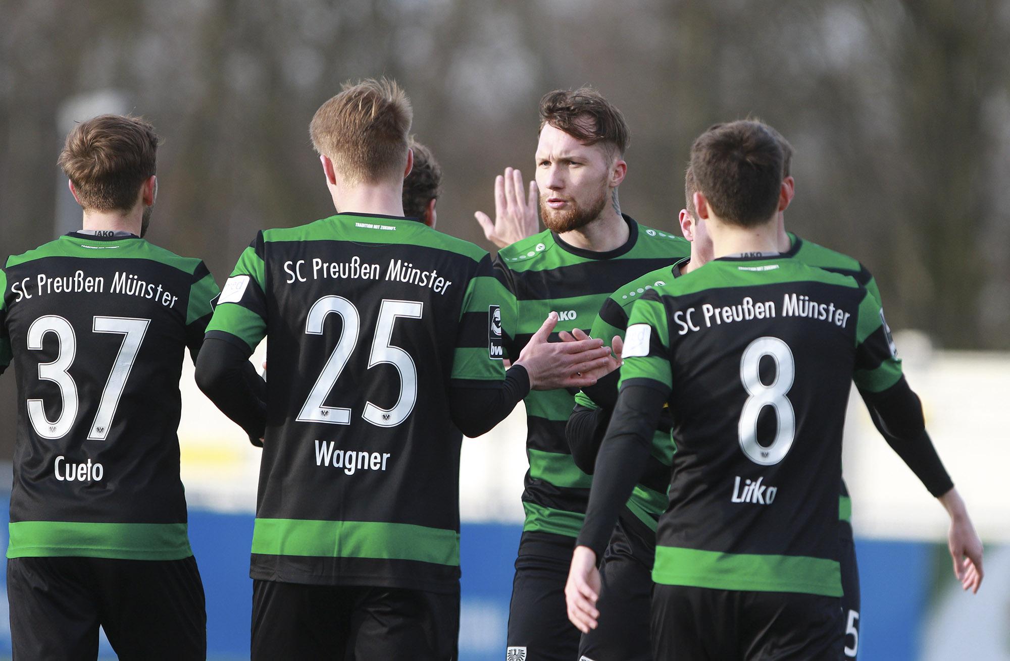 Testspiel Schalke U23 -Preußen Münster