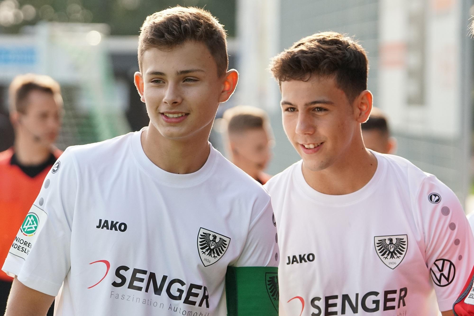 YOUNGSTARS-Talent Bindemann mit klarem Bekenntnis zum SC Preußen