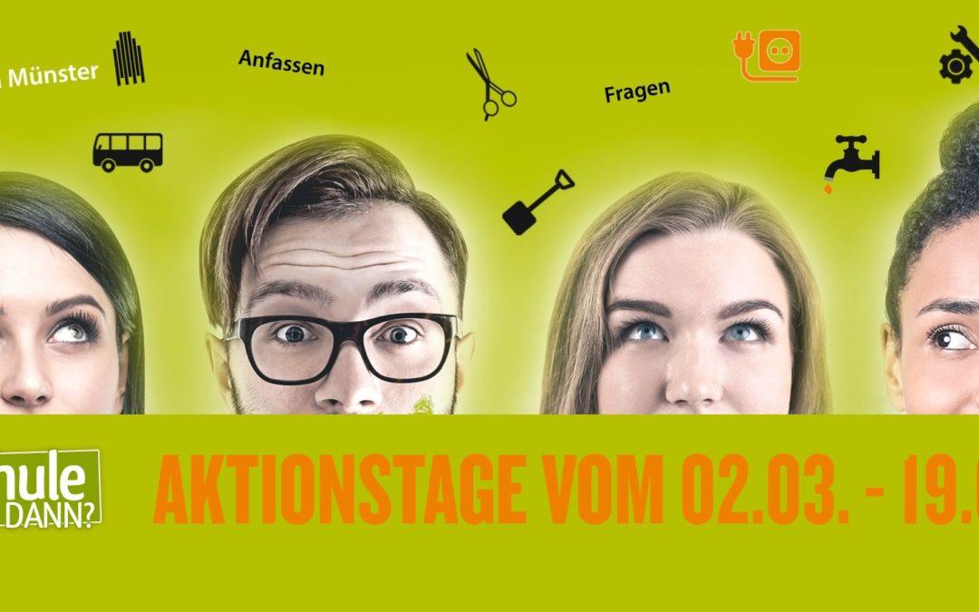 """Aktion """"Schule und dann?"""" – SC Preußen erneut Schirmherr"""