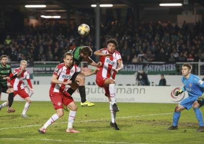 Preußen Münster gegen Würzburger Kickers