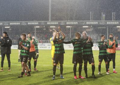 Preußen Münster gegen Hansa Rostock