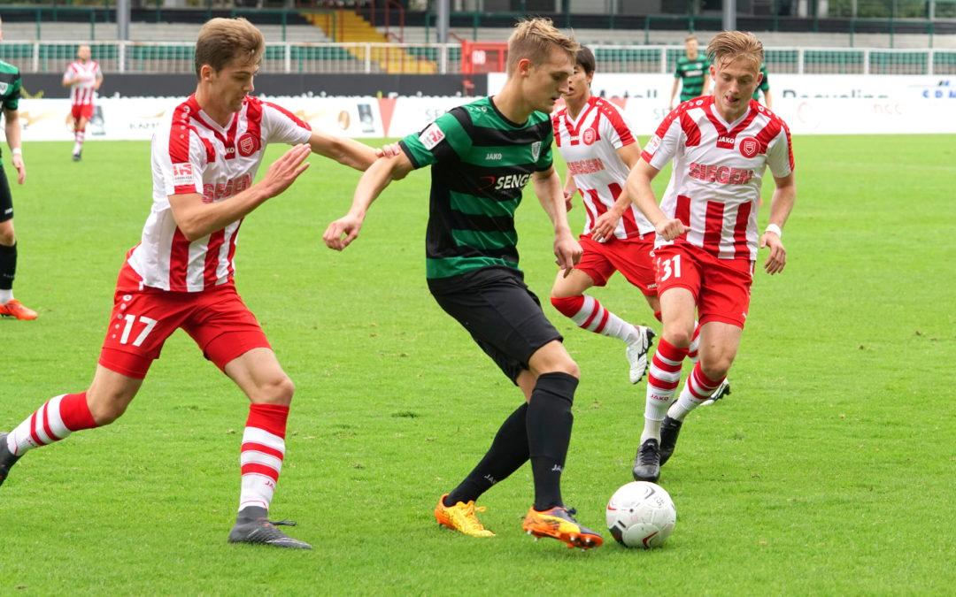 Trainings- und Spielbetrieb bei den YOUNGSTARS und der U23 eingestellt