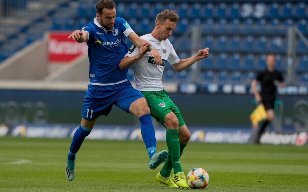2:2-Unentschieden beim 1. FC Magdeburg zum Abschluss