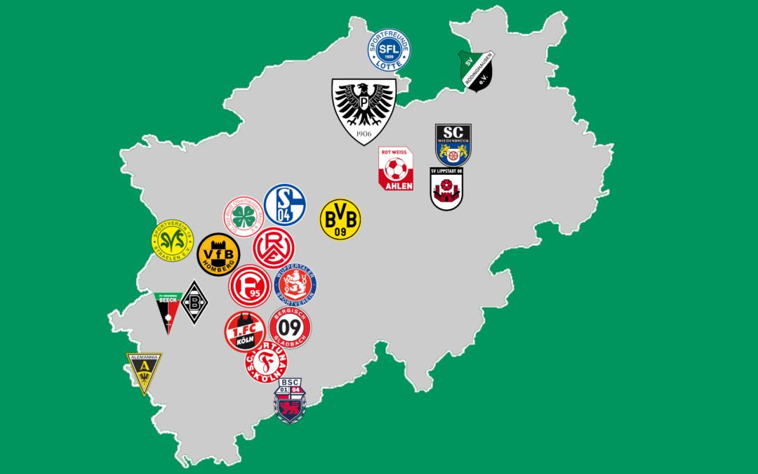 Regionalliga West – Gegner, Stadien und erste Infos