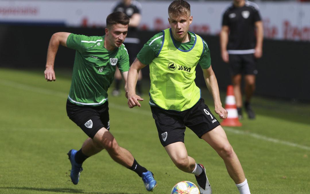 Testspiel-Doppelpack: Samstag gegen Duisburg, Sonntag gegen Hamm