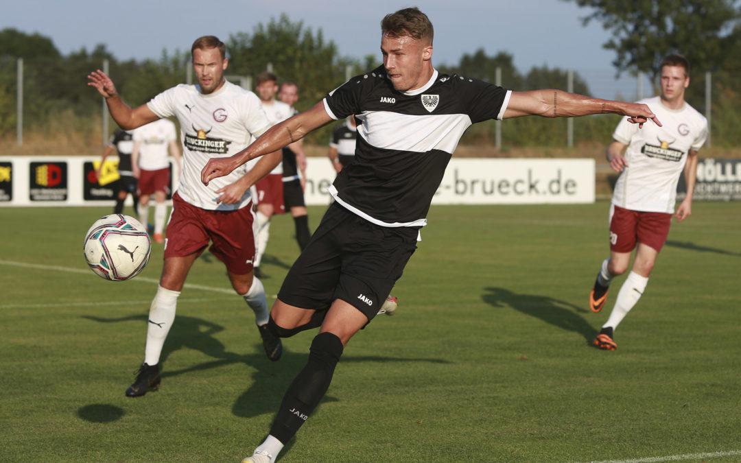 Überzeugende Leistung beim 3:0-Testspielsieg gegen den 1. FC Gievenbeck – mit Bildergalerie