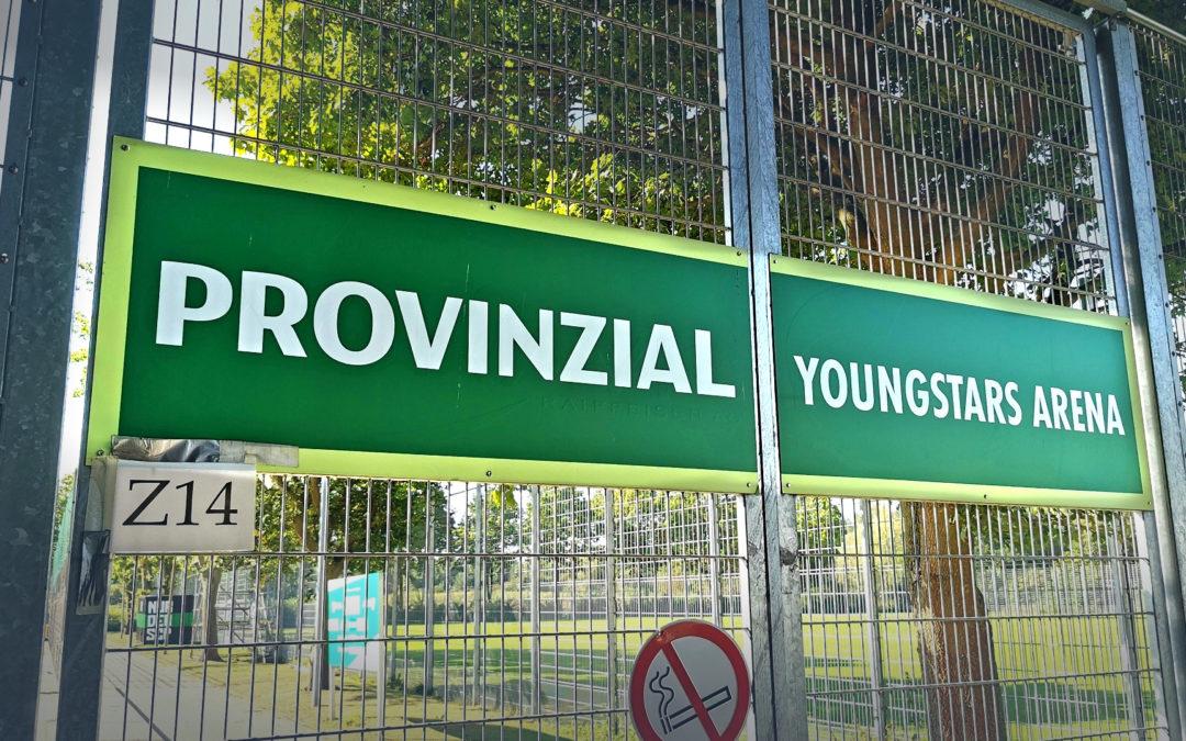 Provinzial-YOUNGSTARS-Arena: Jugend-Testspiele ohne Zuschauer