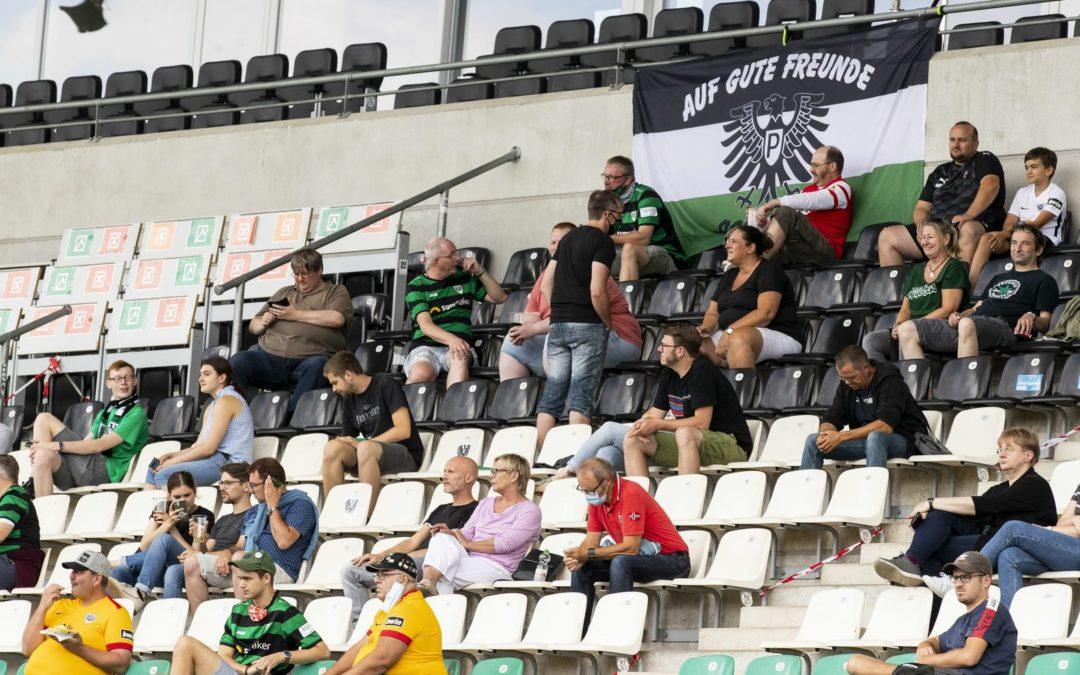 Stadt genehmigt 990 Zuschauer beim Heimspiel gegen Homberg