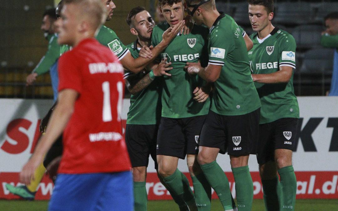 1:1 in Wuppertal – 20 schwache Minuten kosten besseres Ergebnis