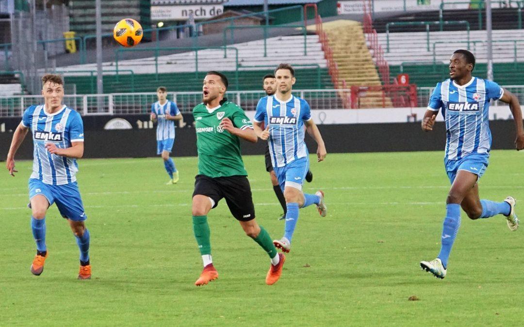 U23 fährt gegen Westfalia Herne den zweiten Sieg in Folge ein