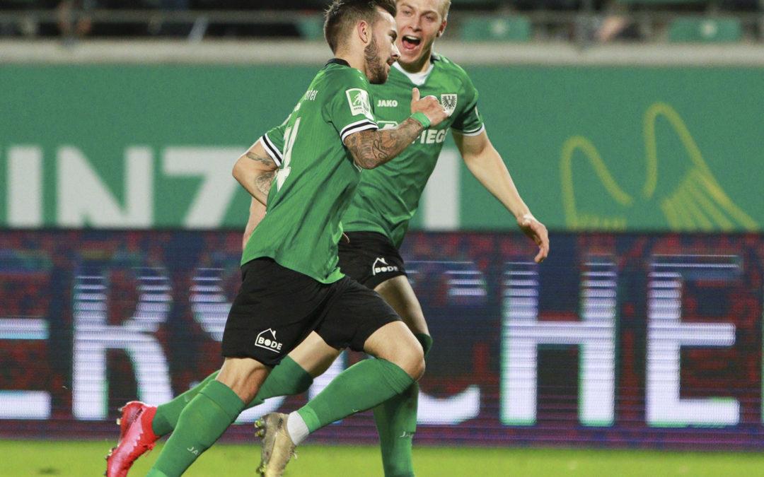 Zum Abschluss der englischen Woche: Auswärtsspiel beim Bonner SC