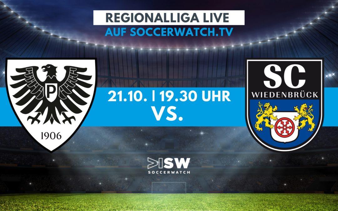 Heute Live: SC Preussen – SC Wiedenbrück