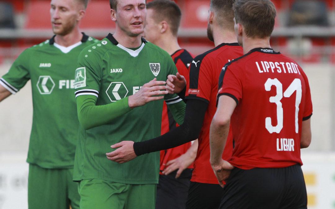 Heimspiel gegen den SV Lippstadt auf nächste Woche Mittwoch verschoben