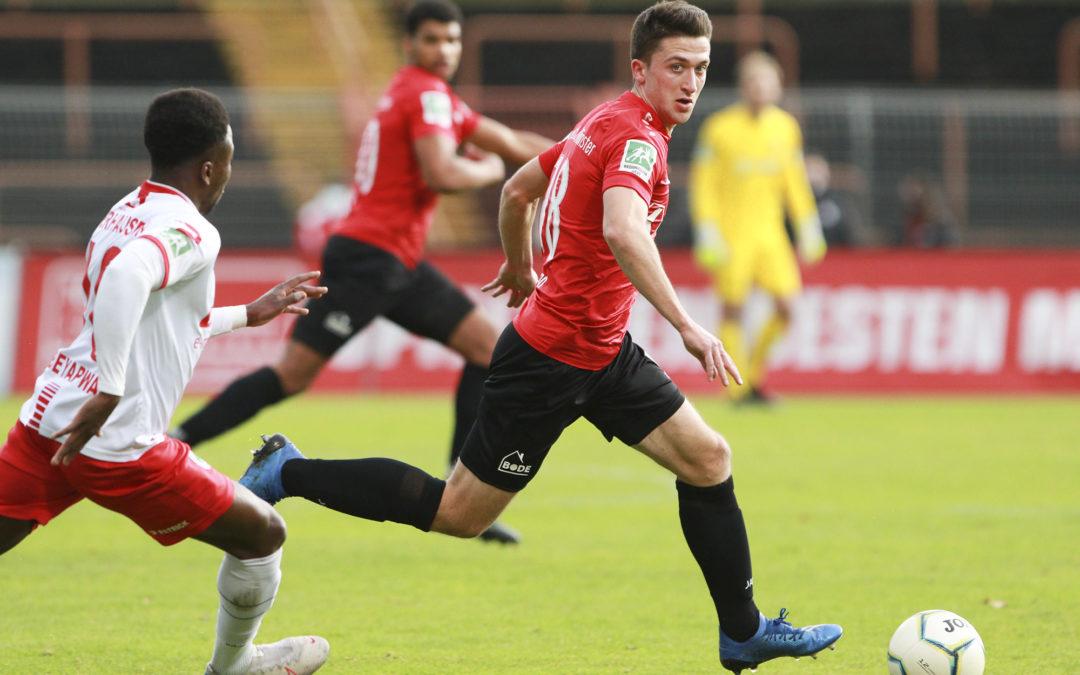Heimserie der U23 hält auch beim 3:1 gegen Haltern