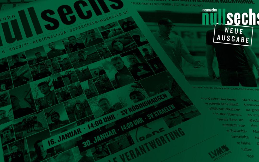 nullsechs Stadionmagazin Ausgabe 6 jetzt online