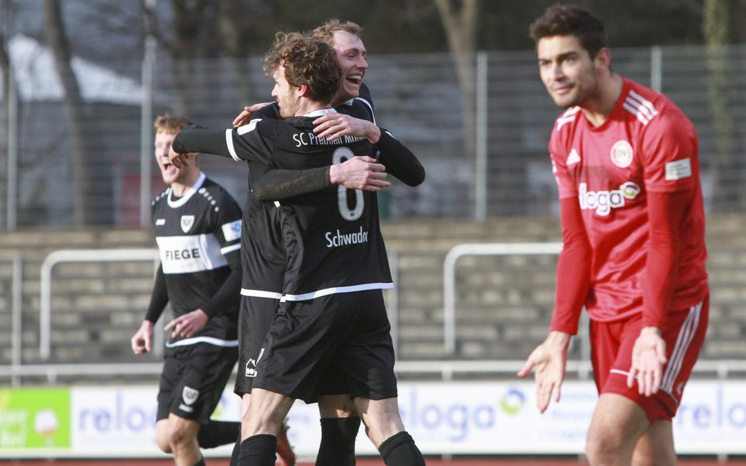 Knapp, aber verdient: 1:0-Auswärtssieg bei Bergisch Gladbach