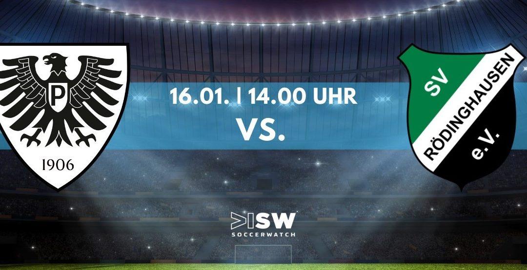 Heute LIVE: SC Preußen – SV Rödinghausen