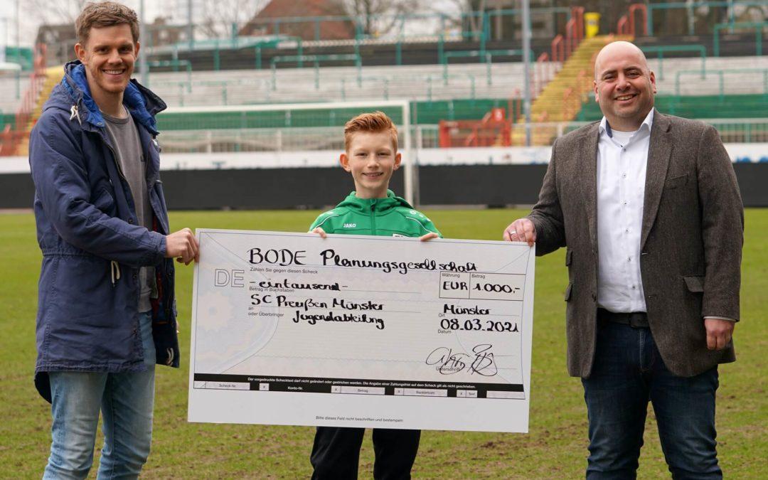 BODE unterstützt die YOUNGSTARS für gelungene Spendenaktion