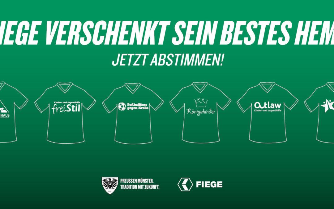 """""""Fiege verschenkt sein bestes Hemd"""": Finalteilnehmer stehen fest"""