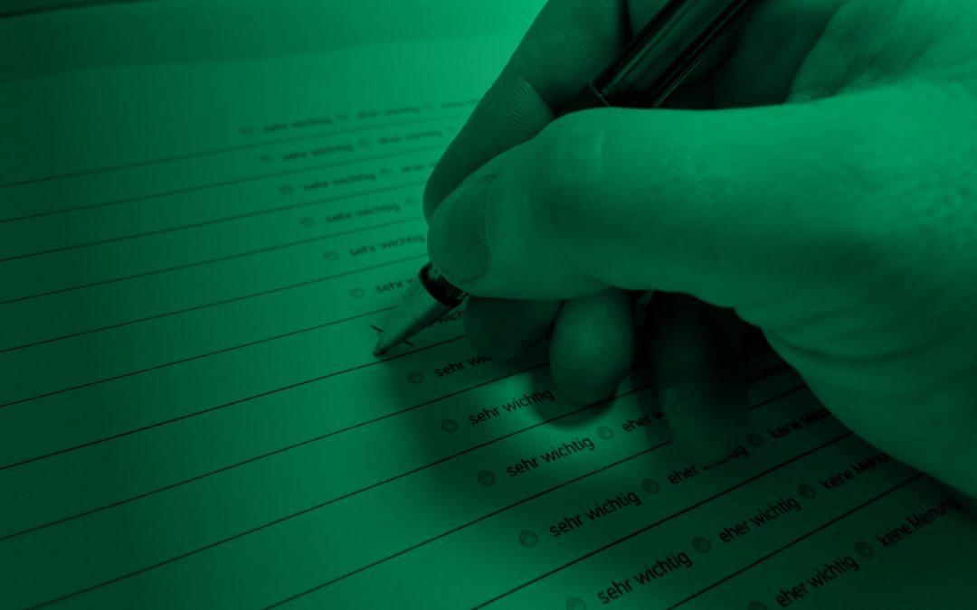 Zweiter Fragebogen zum Leitbild-Prozess ist online