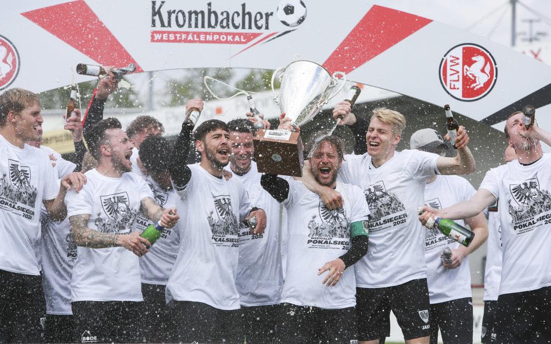 Pokalsieger-Shirts wegen großer Nachfrage auf Bestellung erhältlich