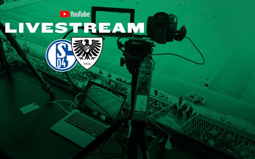 Heute LIVE: FC Schalke 04 (U23) – SC Preußen Münster