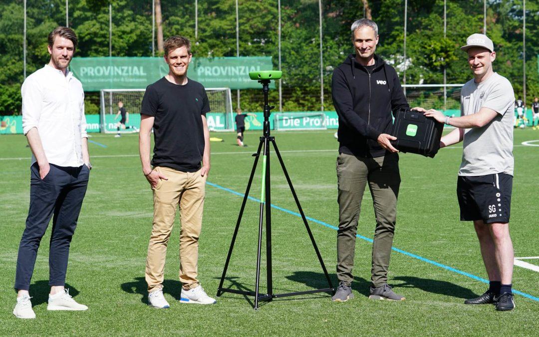 YOUNGSTARS testen Veo-Analyse-Kamera