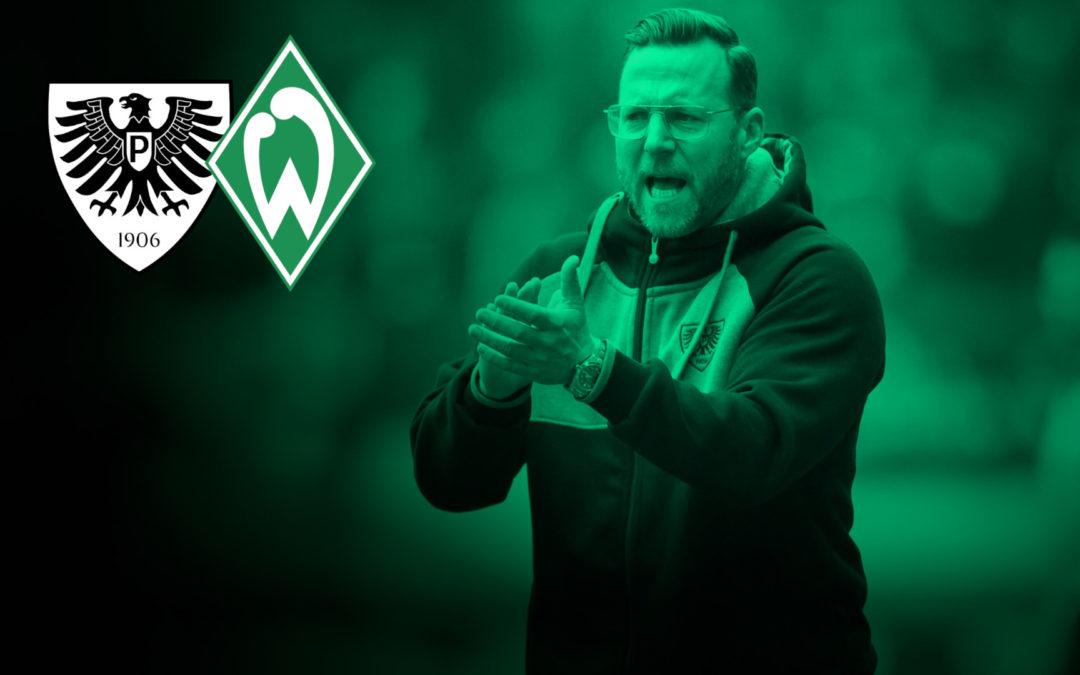 Im eigenen Wohnzimmer gegen Werder Bremen II