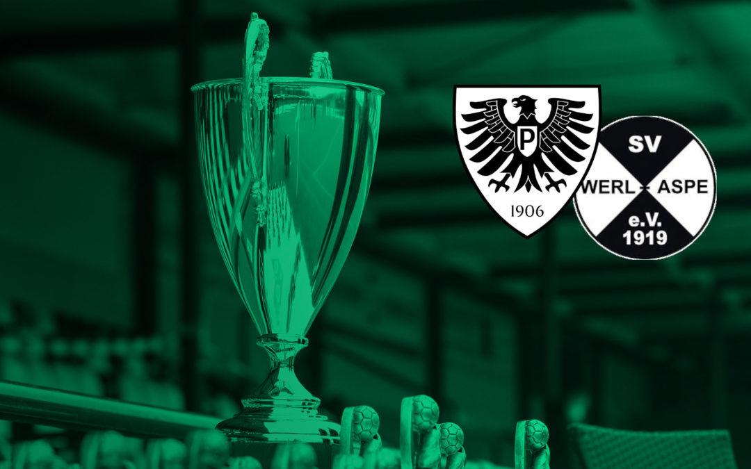 Erstrundenduell im Westfalenpokal wird im Preußenstadion ausgetragen
