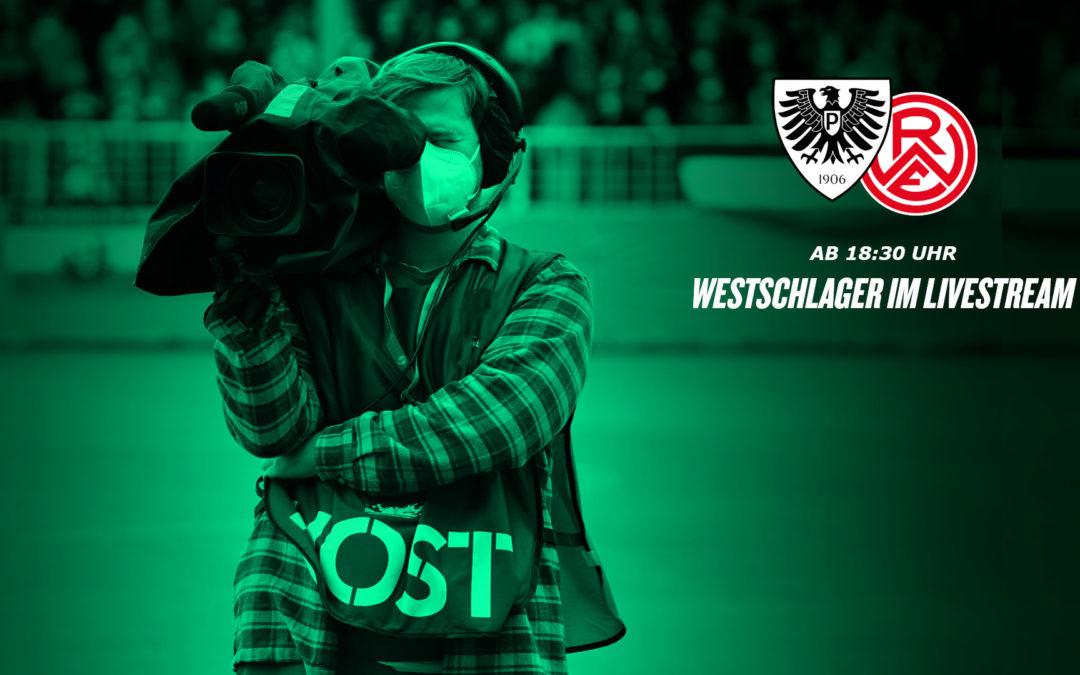 Heute LIVE: SC Preußen Münster – RW Essen
