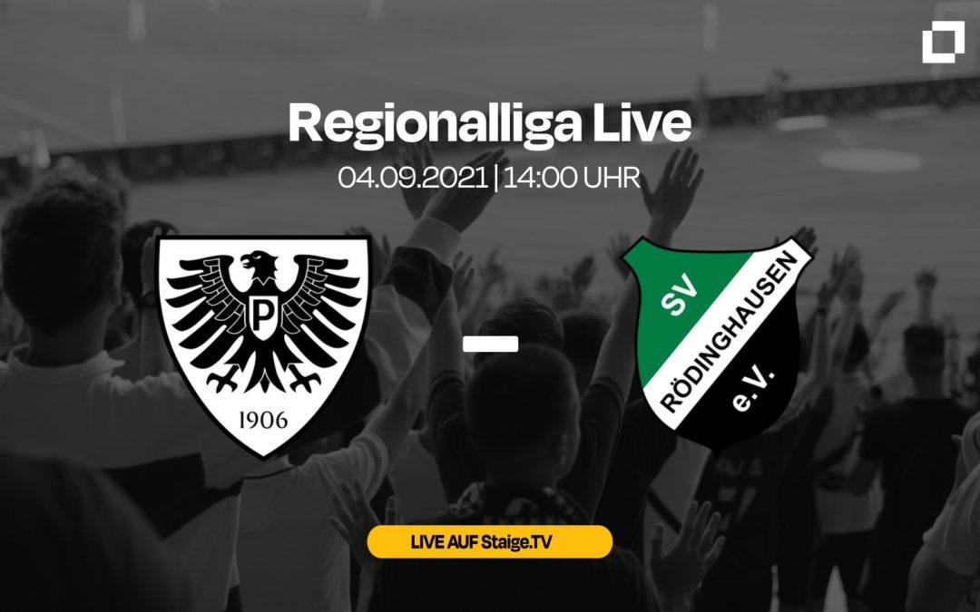 Heute LIVE: SC Preußen Münster – SV Rödinghausen