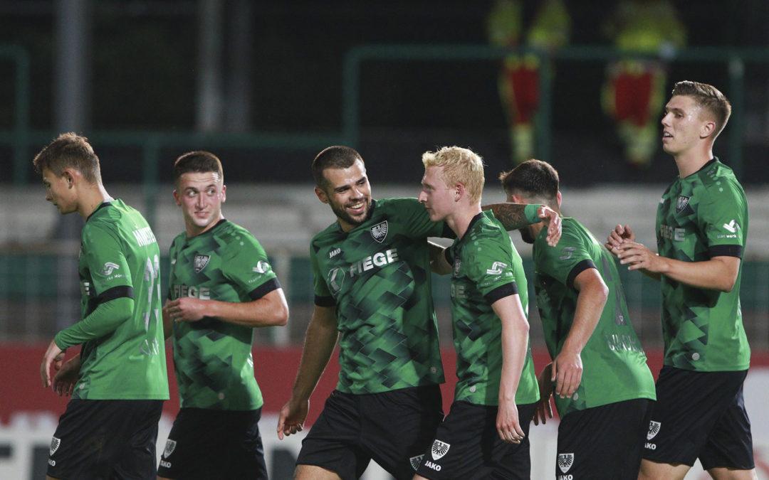 Preußen erreichen nach 4:1-Sieg nächste Runde im Pokal