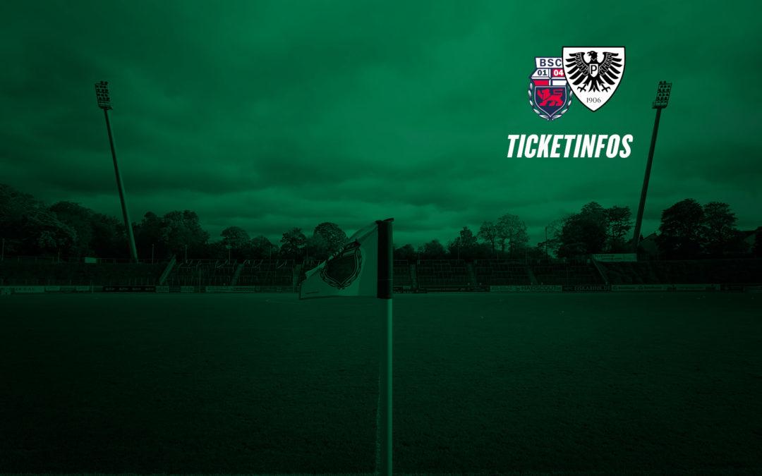 Tickets für Auswärtsspiel beim Bonner SC erhältlich