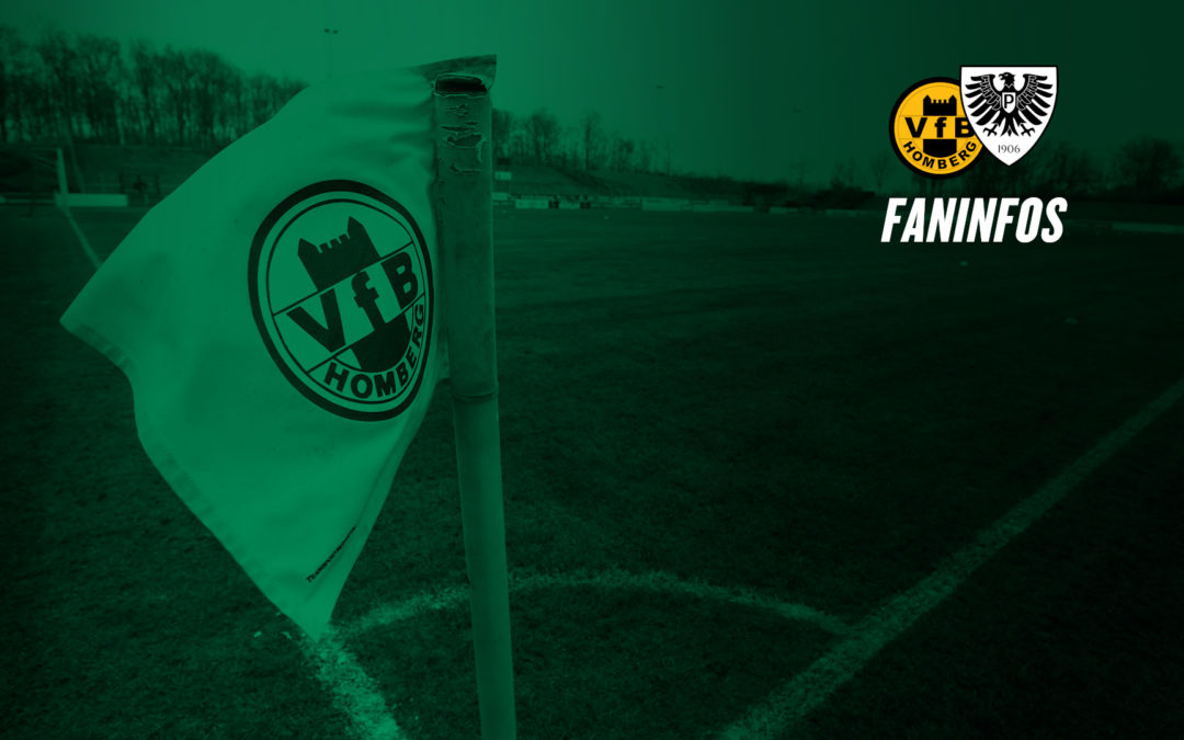 Die Faninfos für das Auswärtsspiel in Homberg