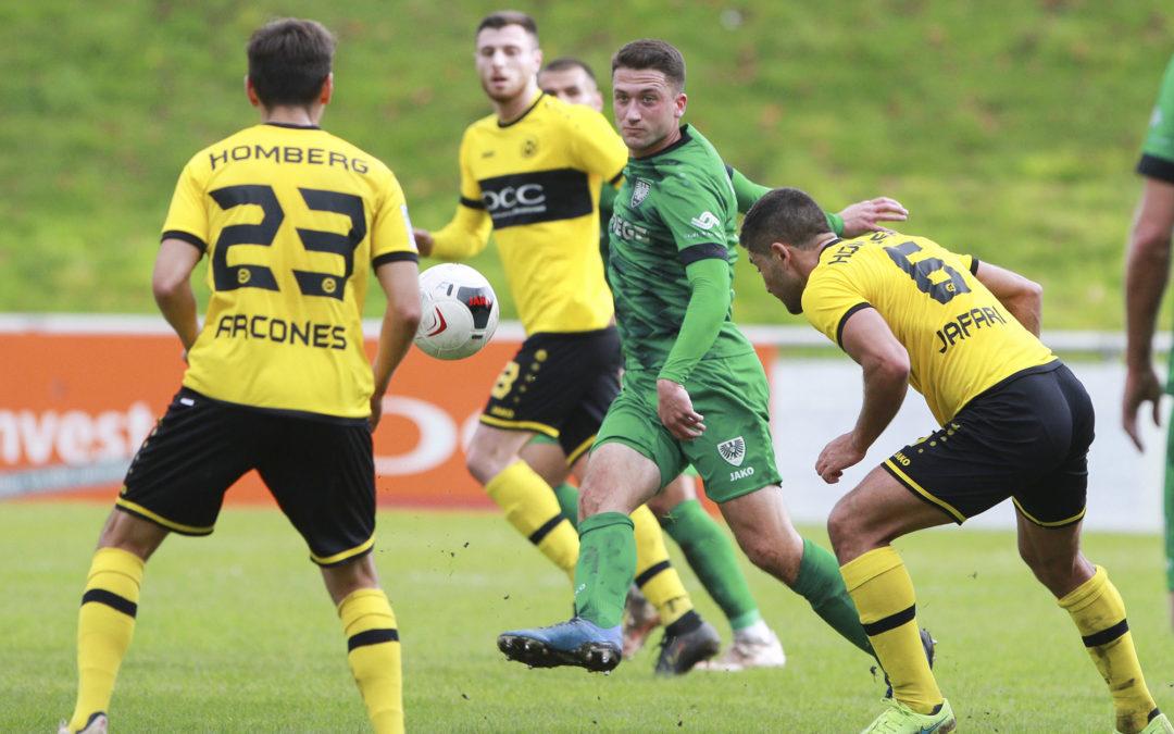Nach schwachem Auswärtsauftritt: 2:2-Unentschieden beim VfB Homberg