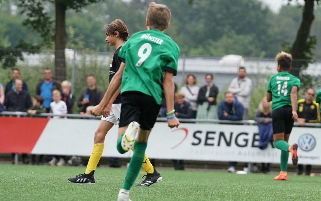 YOUNGSTARS zu Beginn der Ferien mit zwei Siegen und zwei Niederlagen
