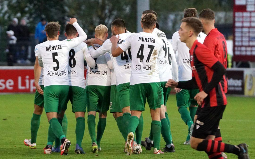 Preußen lösen nach 5:2-Sieg gegen Lippstadt Viertelfinalticket