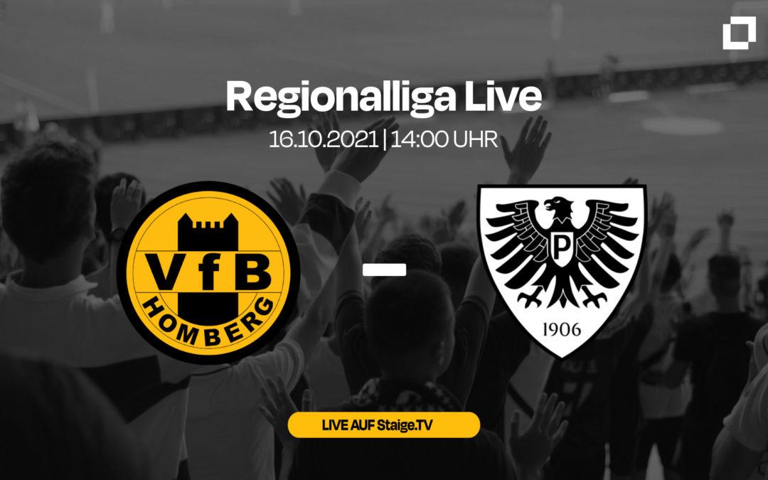 Heute LIVE: VfB Homberg – SC Preußen Münster