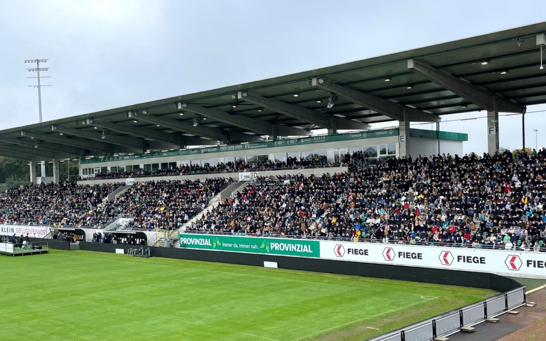 Erstsemesterbegrüßung mit 4.000 Studenten im Preußenstadion